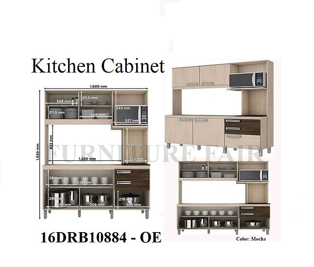 Kitchen Cabinet 16DR10884 OE