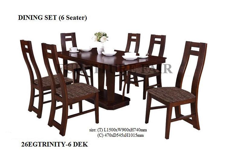 Dining Set 26EGTRINITY-6 DEK