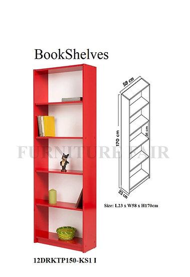 BookShelves 12DRKTP150 KS1 I