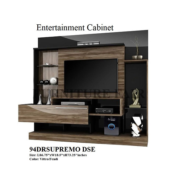 TV Entertainment Cabinet 94DRSUPREMO DSE