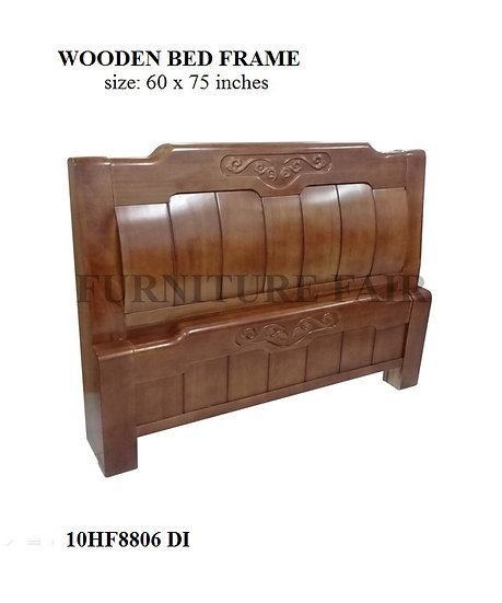 Wooden Bed Frame Queen Size 10HF8806 DI