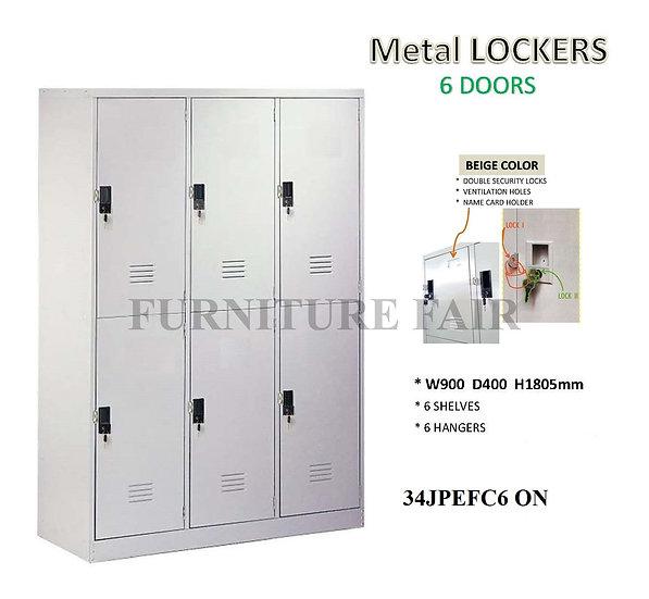 Steel Lockers 34JPEFC6 ON