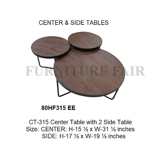 Center & Side Table 80HF315_EE