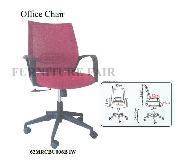 Office Chair 62MRCBU006B IW