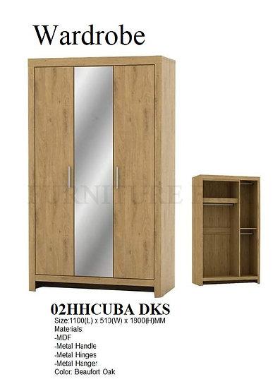 Wardrobe 02HHCUBA DKS