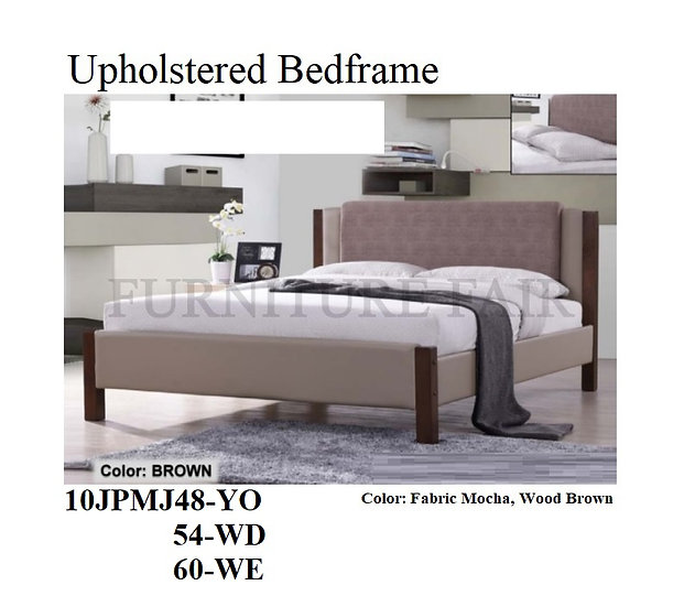 Upholstered Bedframe 10JPMJ48YO 54WD 60WE