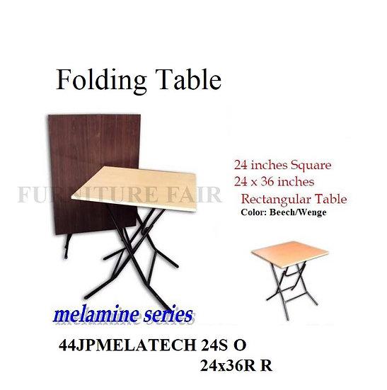 Folding Table 44JPMELATECH 24S O 24x36R R