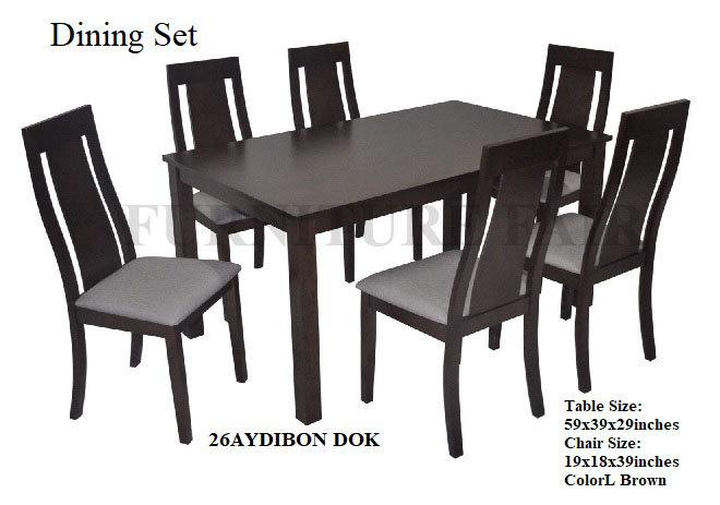 Dining Set 26AYDIBON DOK