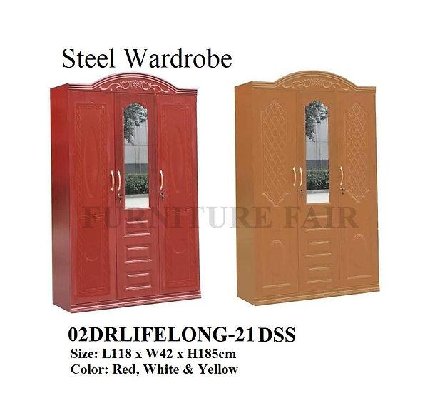 Steel Wardrobe 02DRLIFELONG-21 DSS