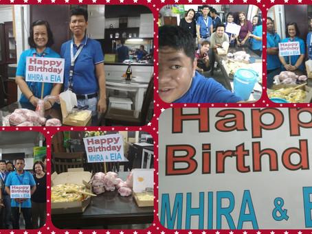 Happy Birthday Ms.Mhira & Eia..