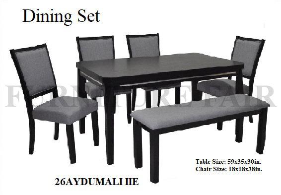 Dining Set 26AYDUMALI IIE