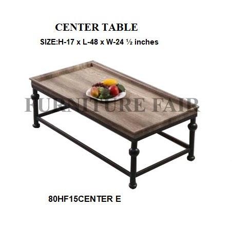 CENTER TABLE 80HF15CENTER E