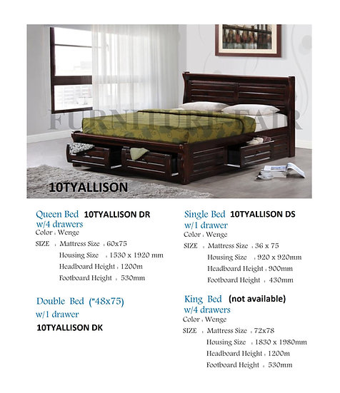 Bed Frame 10TYALLISON