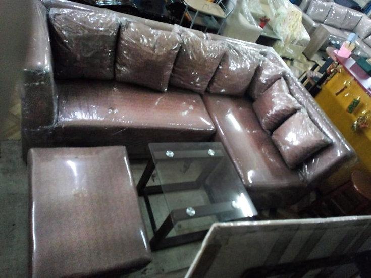 L-Type Sofa Set 78PV3889 DKE