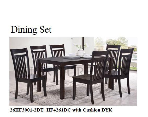 Dining Set 26HF3001-2DT+HF4261DC DYK