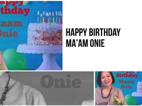 Happy Birthday Madam Onie
