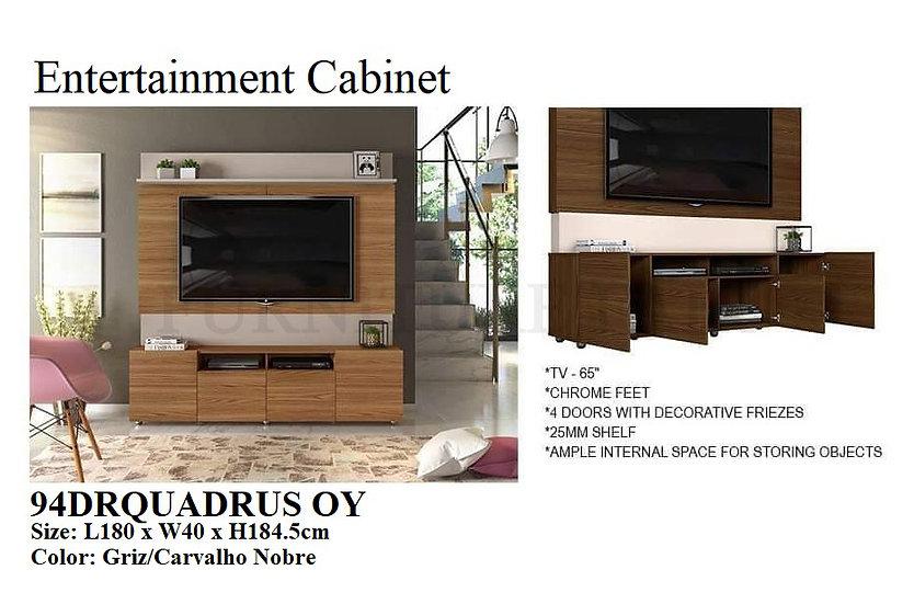 Entertainment Cabinet 94DRQUADRUS OY