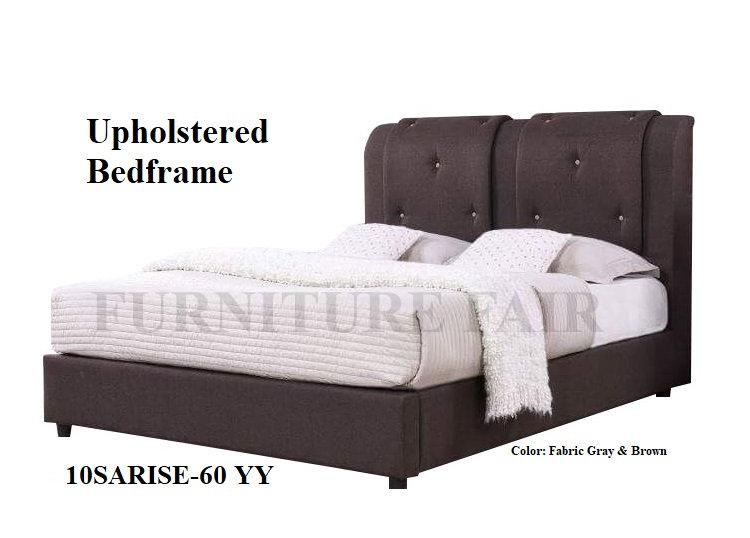 Upholstered Bedframe 10SARISE-60 YY