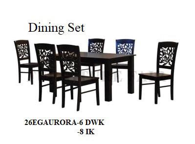 Dining Set 26EGAURORA 6DWK 8IK