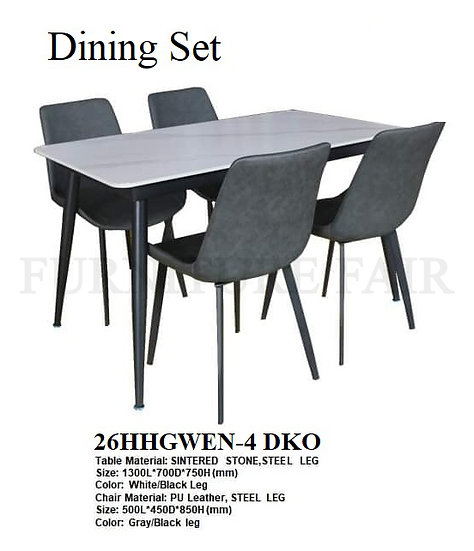 Dining Set 26HHGWEN-4 DKO