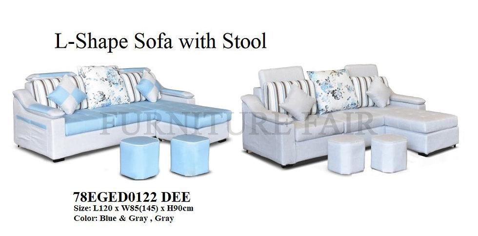 L-Shape Sofa 78EGED0122 DEE