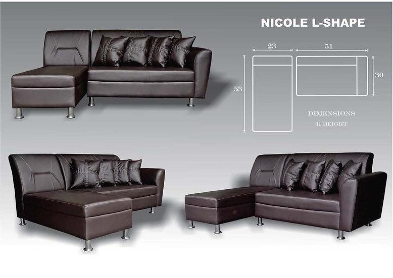 Nicole L-Shape Sofa