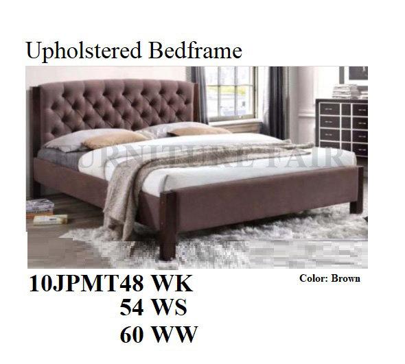 Upholstered Bedframe 10JPMT48WK 54WS 60WW
