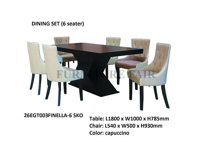Dining Set 26EGT003-6_SKO