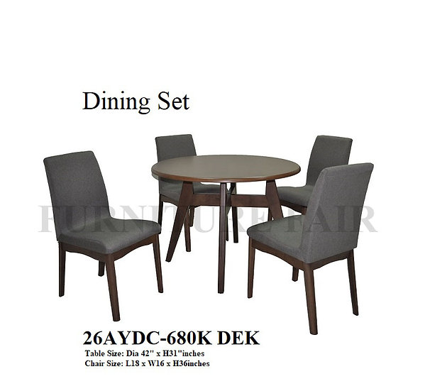 Dining Set 26AYDC-680K DEK
