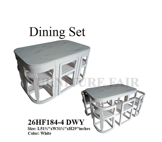 Dining Set 26HF184-4 DWY