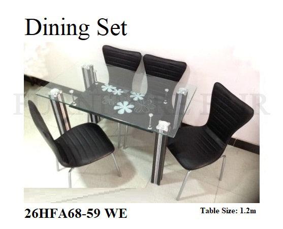 Dining Set 26HFA68-59 WE