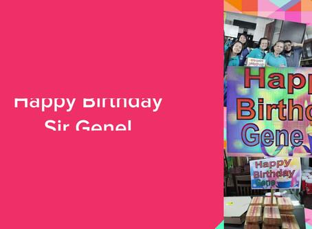 Happy Birthday Sir Eugene :)