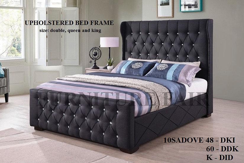 Upholstered Bed Frame 10SADOVE 48 60 k
