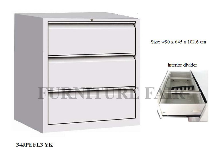 Filing Cabinet 34JPEFL3 YE