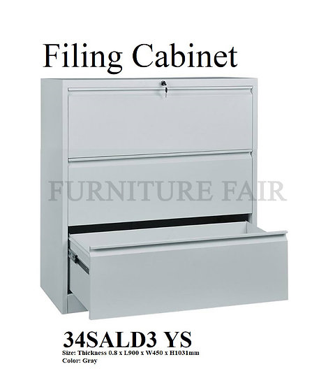 Filing Cabinet 34SALD3 YS