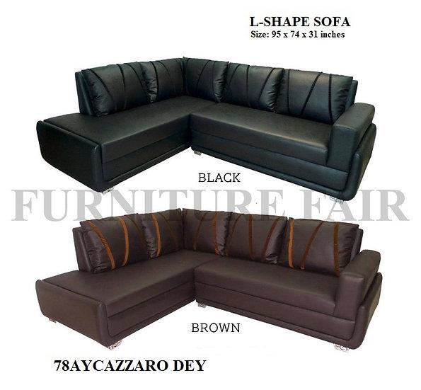 L-Shape Sofa 78AYCAZZARO DEY