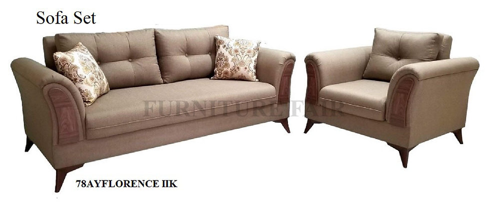 Sofa Set 78AYFLORENCE IIK