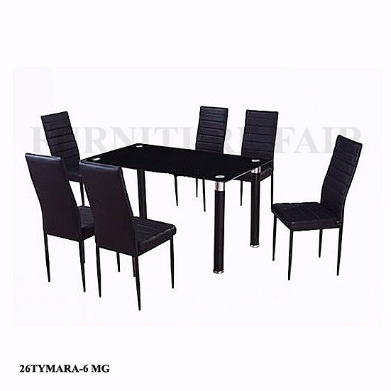 Dining Set 6 Seater 26TYMARA-6 MG