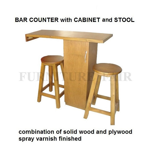 Bar Counter with Stool (made-to-order)
