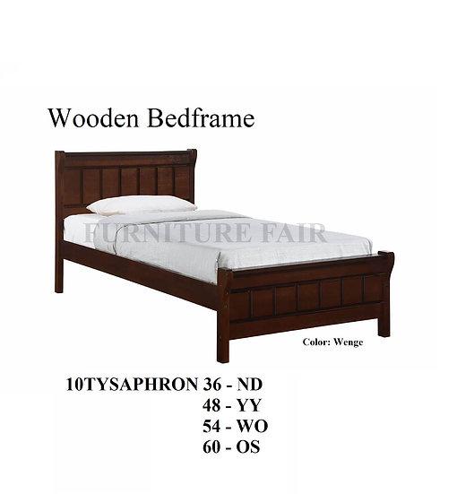Wooden Bedframe 10TYSAPHRON 36 ND