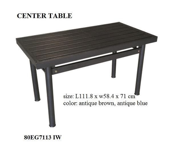 Steel Center Table 80EG7113 IW