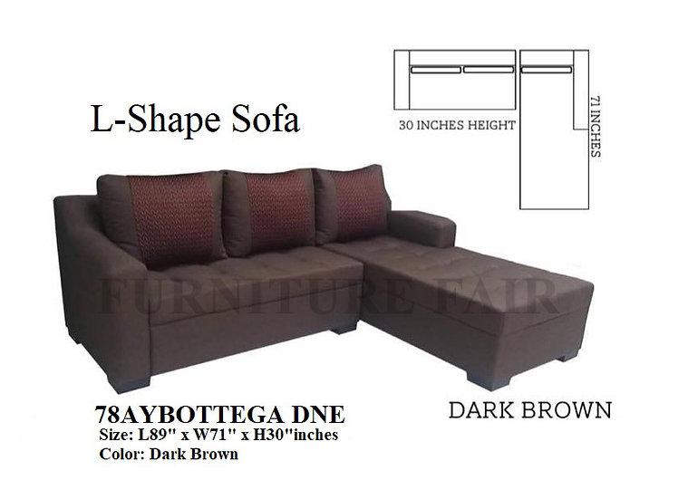 L-Shape Sofa 78AYBOTTEGA DNE