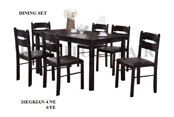 Dining Set 4 Seater 26EGKIAN-4 NE