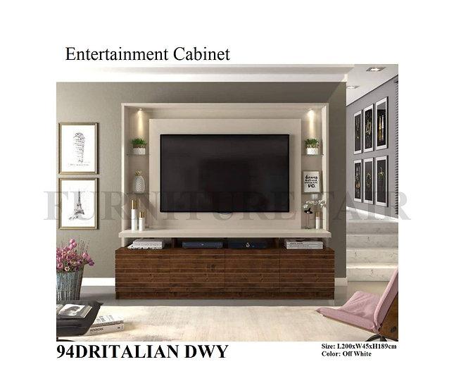 Entertainment Cabinet 94DRITALIAN DWY