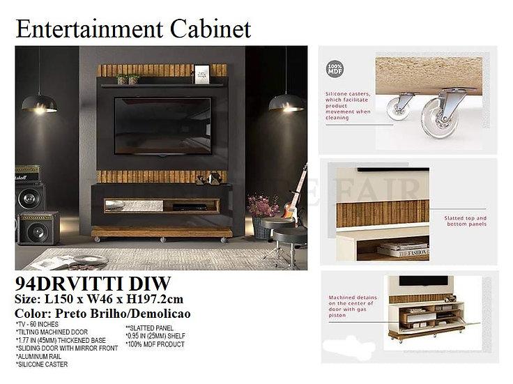 Entertainment Cabinet 94DRVITTI DIW