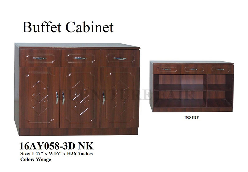 Buffet Cabinet 16AY058-3D NK