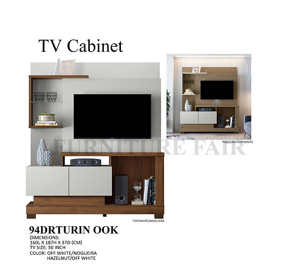 TV Cabinet 94DRTURIN OOK
