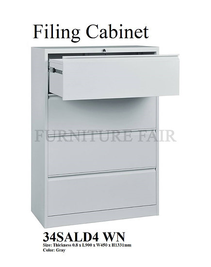Filing Cabinet 34SALD4 WN
