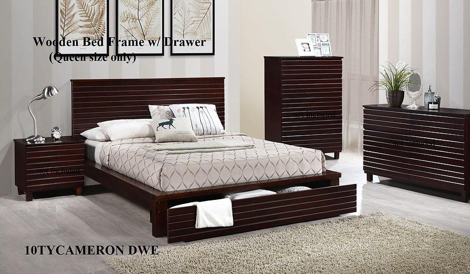 Wooden Bed Frame 10TYCAMERON DWE