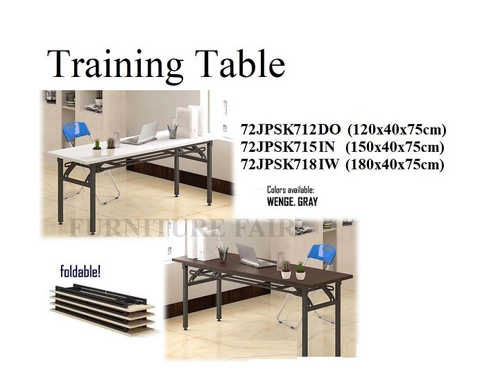 Training Table 72JPSK712DO 715IN 718IW
